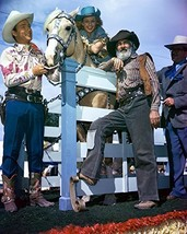 Roy Rogers, Dale Evans And George Hague 16x20 Canvas Giclee - $69.99