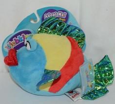 GANZ Brand Webkins Collection HM438 Rainbow Colored Plush Pucker Fish image 2