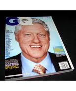GQ Gentlemen's Quarterly Magazine Dec 2007 President BILL CLINTON Kanye ... - $11.99