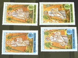Togo Set of 4 Stamps-Apostles-MINT  Cancelled Free Shipping MNH #700114 - $1.68