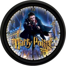 HARRY POTTER 8in. Unique Homemade Wall Clock w/ Battery Included - $23.97