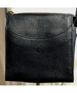 Mark Cross Blue Black Purse Pebble Leather Cross Body Handbag Strao Adju... - $208.15