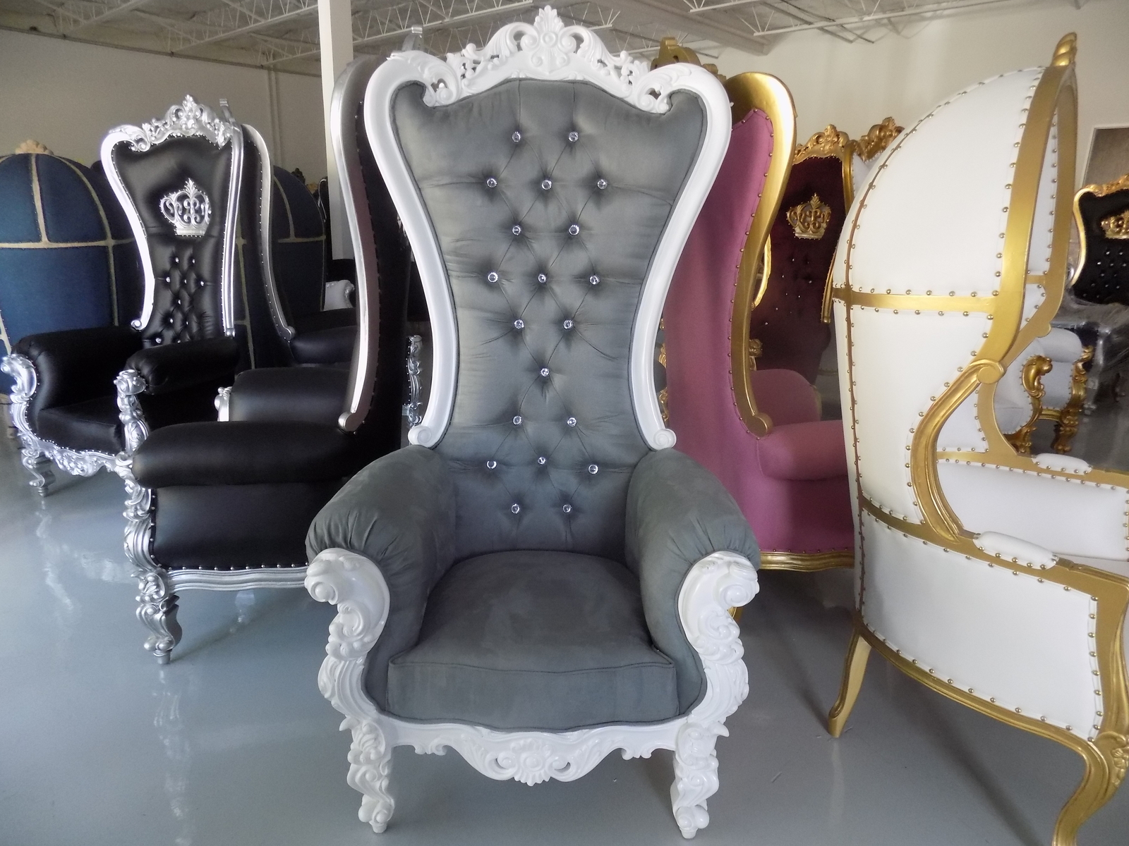 Tall Queen Chairs For Weddings Events Photography ...