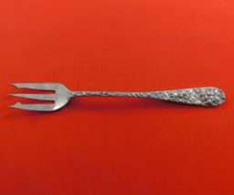 Baltimore Rose by Schofield Sterling Silver Cocktail Fork / Oyster Fork ... - $49.00