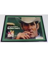 1973 Marlboro Man Cigarettes 12x18 Framed ORIGINAL Vintage Advertising D... - $65.09