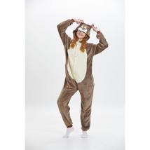 Adults' Kigurumi Pajamas Anime Chipmunk Onesie Pajamas polyester fibre B... - $16.00