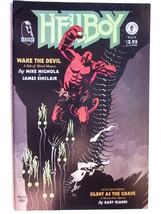 Dark Horse Comics Hellboy Wake The Devil #4 (Of 5) (Sept 1996/NM, 9.4 In Grade) - $7.84