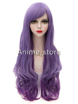 Purple Cosplay Long Curls Wig Halloween cosplay0233 - $32.99