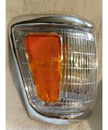 Corner Light Compatible With 92-95 Toyota Pickup Chrome Color Clear/Ambe... - $26.50