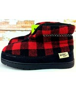 Western Chief Boys Boots Youth 13 Freestyle Buffalo Red Plaid Slipper Boot - $16.82