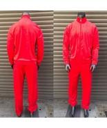 Men's Fila Red Signature Full Zip Tracksuit  - $240.00