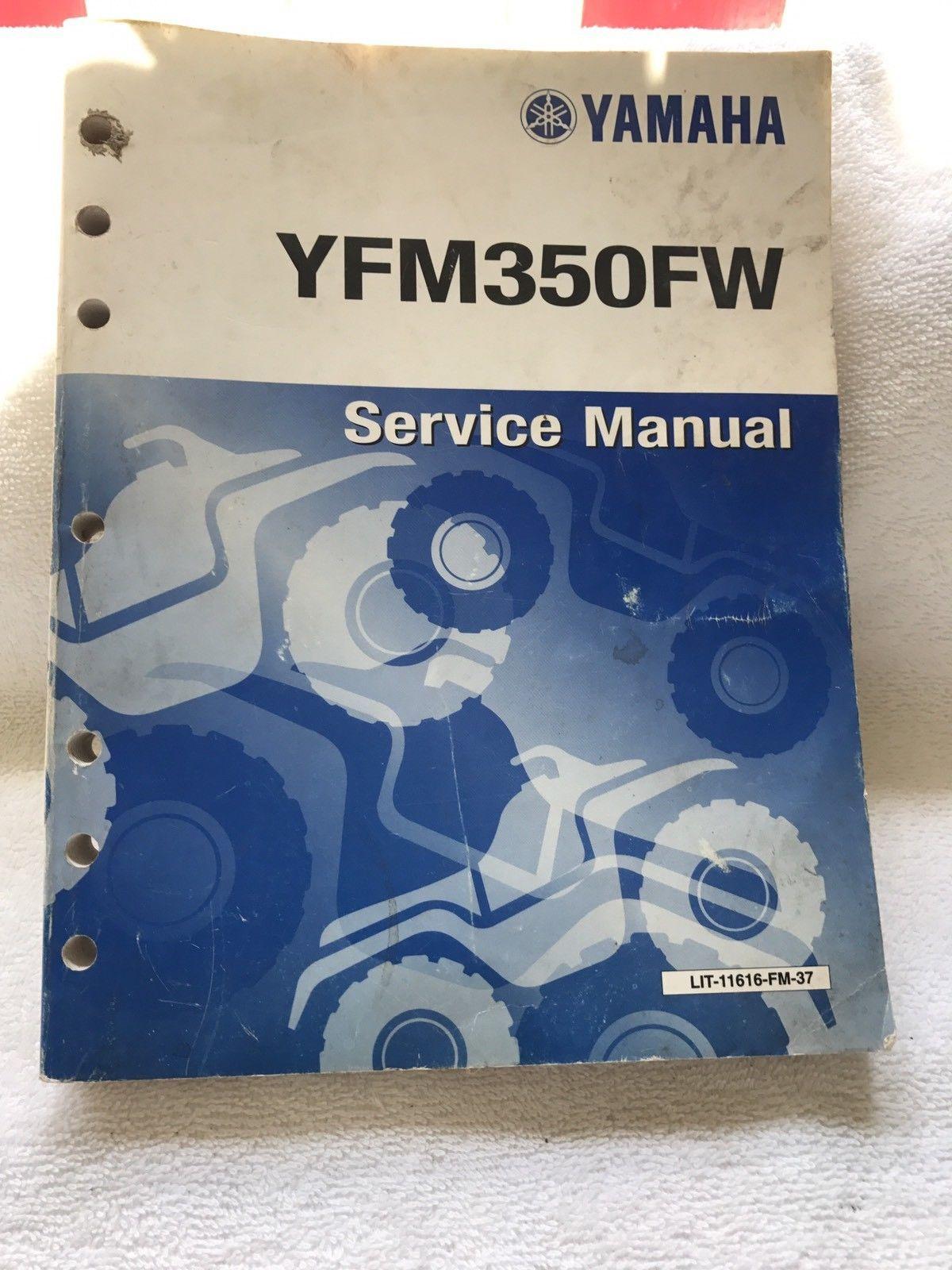 Yamaha YFM350FW Service Manual Supplementary Manual
