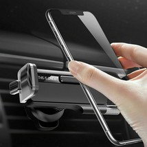Stainless Steel Holder Stand Clip Car Air Vent Mount Universal Mobile Ph... - £22.58 GBP