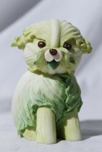 2004 Enesco Home Grown Lettuce Cabbage Canine Puppy Dog Figurine - $79.15