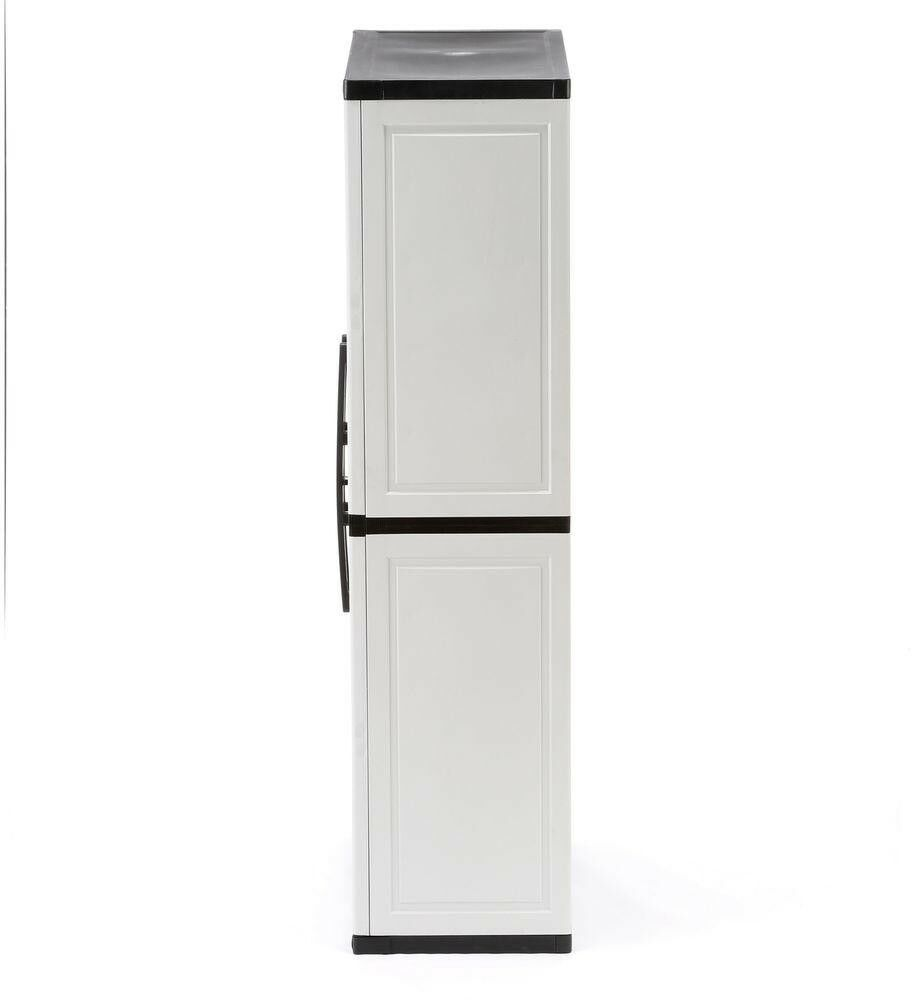 Multi-Purpose Cabinet 35 in. W x 70.75 in. H 4-Adjustable Shelves Plastic