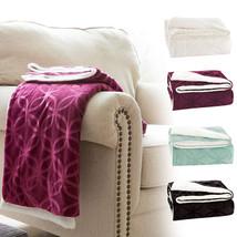 VVfamily Soft Fluffy Microfiber Fleece Sherpa Plush Throw Blanket Twin 60x80