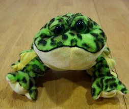 Ganz Webkinz GreenWebkinz BULLFROG TOAD Plush Stuffed Animal - $15.35