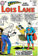 Superman's Girlfriend Lois Lane Comic Book #42, DC Comics 1963 FINE - $28.95