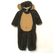 Monkey Costume 12-18 Months M In Character Halloween Dress Up Brown Hat 23-27lbs - $17.81