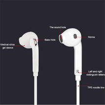 Cheap Headphone 3.5mm Earphones In-Ear Headset With HD Mic For Samsung i... - $1.77