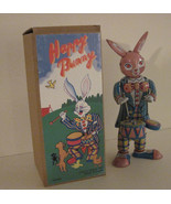 Tin Toy Drumming Happy Bunny Wind-Up Toy - $12.99