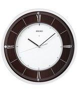 Seiko Clock Clock Wall Clock International Collection Radio Clock Wooden... - $241.10