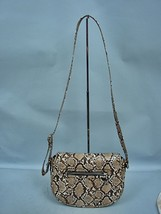 Nine West Snakeskin Embossed Shoulder Bag - $27.09