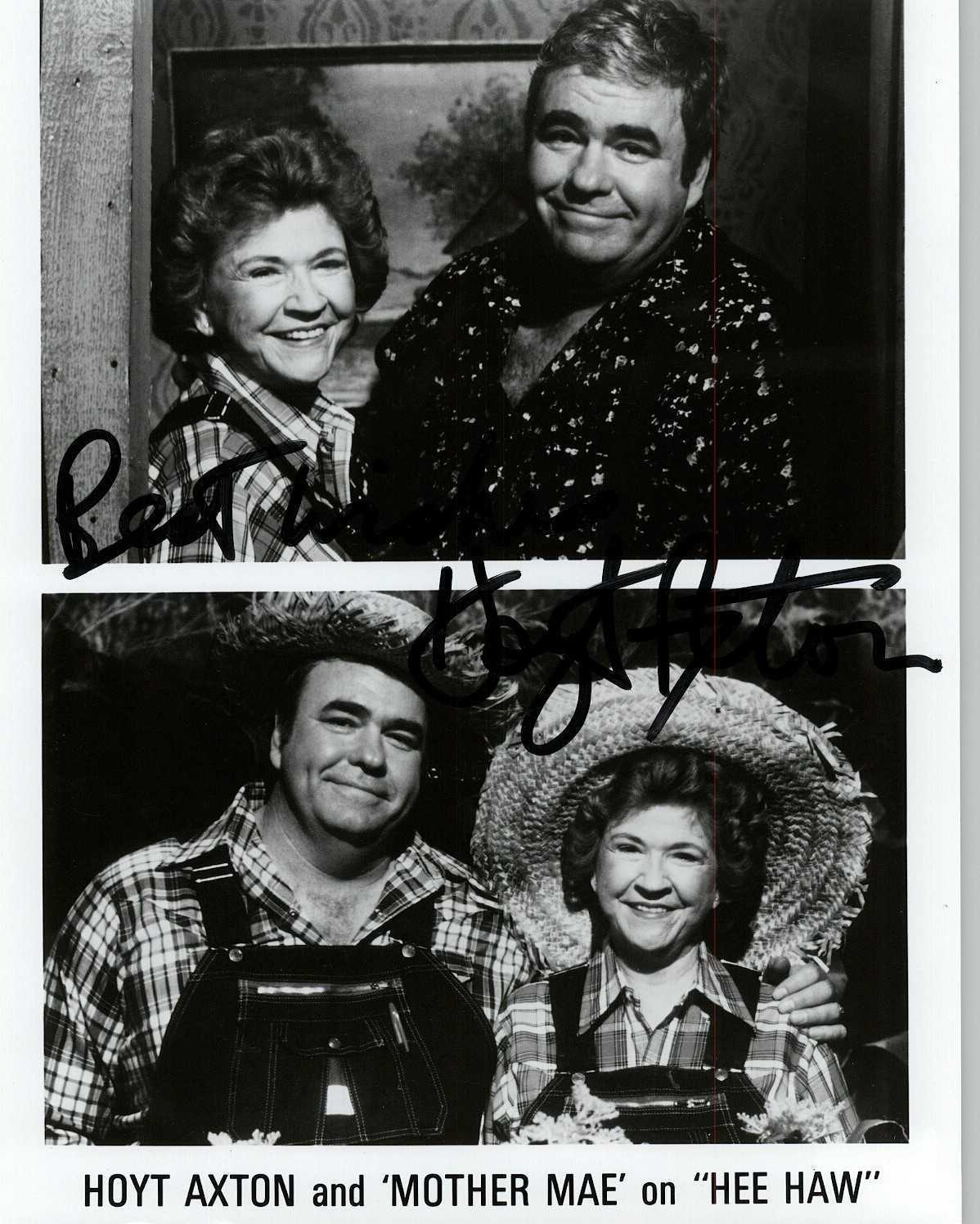 Primary image for Hoyt Axton (d. 1999) Signed Autographed Glossy 8x10 Photo