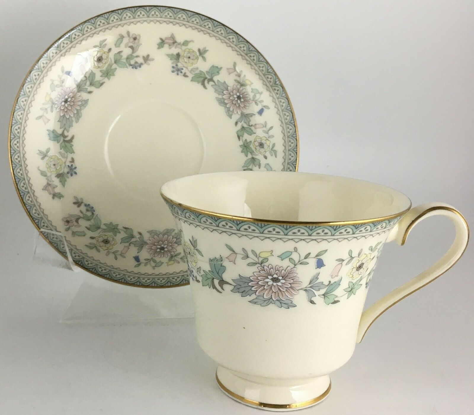 Primary image for Minton Bordeaux Cup & saucer