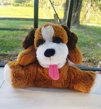 "Converted 27"" Stuffed Animal ""Dog w/Eyebrows"" Ventriloquist Puppet *Custom * E3 - $15.00"