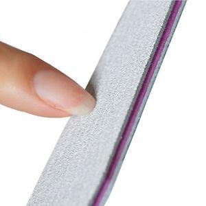 Nail Art Sanding Buffer Buffing Tips Manicure Acrylic UV Gel File Tool 100/180