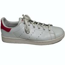 Unisex Adidas Originals B32703 Stan Smith Cloud White Bold Pink Shoes Sz... - $44.52