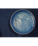 1983  BING & GRONDAHL MOTHER'S DAY PLATE RACCOON AND YOUNG - $24.00