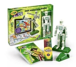 Toy Crayola Color Alive Easy Animation Studio Mannequin w/stand Design Booklet - $18.00