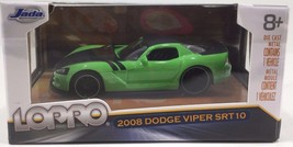 Jada Lopro 2008 Dodge Viper SRT10 Scale 1:64 - Green - $10.84