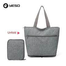 YESO New Multifunction Tote Bag Fashion Casual Beach Bag Oxford Men Tote... - $49.36 CAD
