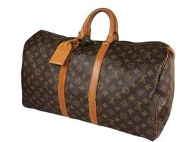 LOUIS VUITTON Keepall 50 Monogram Canvas Leather Boston Bag LH3959 - $629.00
