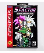 The S Factor Sonia And Silver - Sonic Hedgehog Sega Genesis Mega Drive C... - $24.99