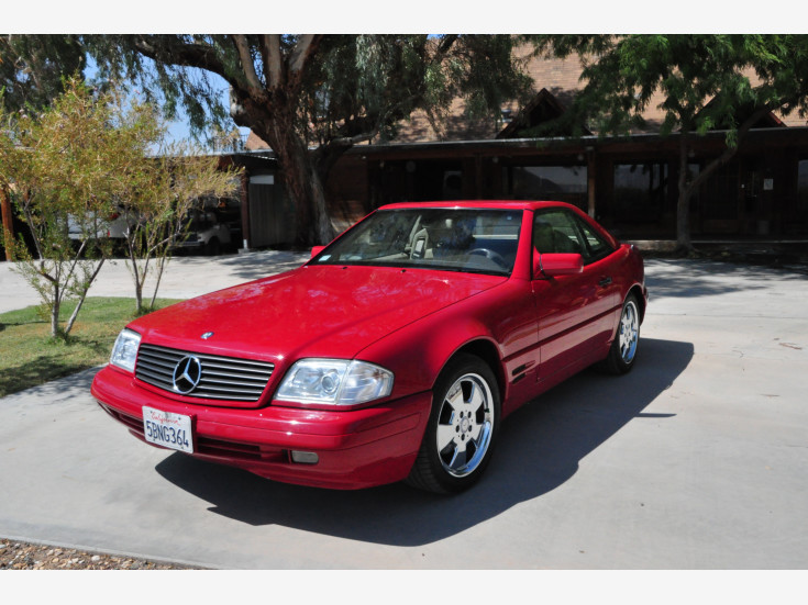 1997 Mercedes-Benz SL500 For Sale In Yermo, CA 92398-1209
