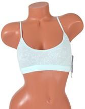 a4df83cdc3e Calvin Klein Women  39 s Bare Lace Bralette Bra QF4046 Light Blue NWT -