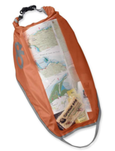 Outdoor Research 8L-Liter Flat Dry Bag Waterproof Roll-Top Closure Alpenglow