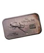 Il Watergate Bug 1 Oncia Argento Artistico Barretta Da Coloniale come Nuovo - $43.72