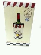 New Vino Wine Bottle Holder C1075 free shipping - $17.75