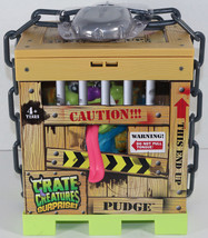MGA Crate Creatures SURPRISE PUDGE BLUE YELLOW INTERACTIVE MONSTER Toy NEW - $51.97