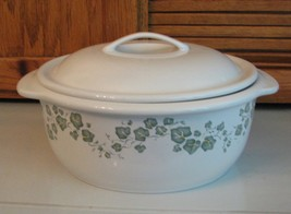 Corelle Coordinates CALLAWAY IVY Stoneware 2.5 qt Covered Casserole Dish - $12.86