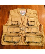 FIELD & STREAM Tackle Fishing Vest Fly Sz L SPR-015 Zip off waist NWOT #186 - $32.48