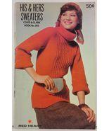 His & Hers Sweaters Coats & Clark Book No. 265 - $3.75