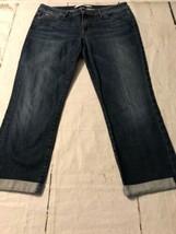 Joe's Jeans Women's Denim Cuffed Crop Kannedy Wash Blue Stretch Size 31 - $38.61