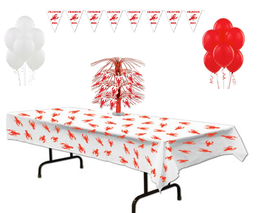 Cajun Crawfish Party Decoration Set - $22.95