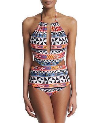 c8f2e6eec6 Mara Hoffman Women S Reversible Pinwheel One Piece Swimsuit Bathing Suit Xs  -  72.67
